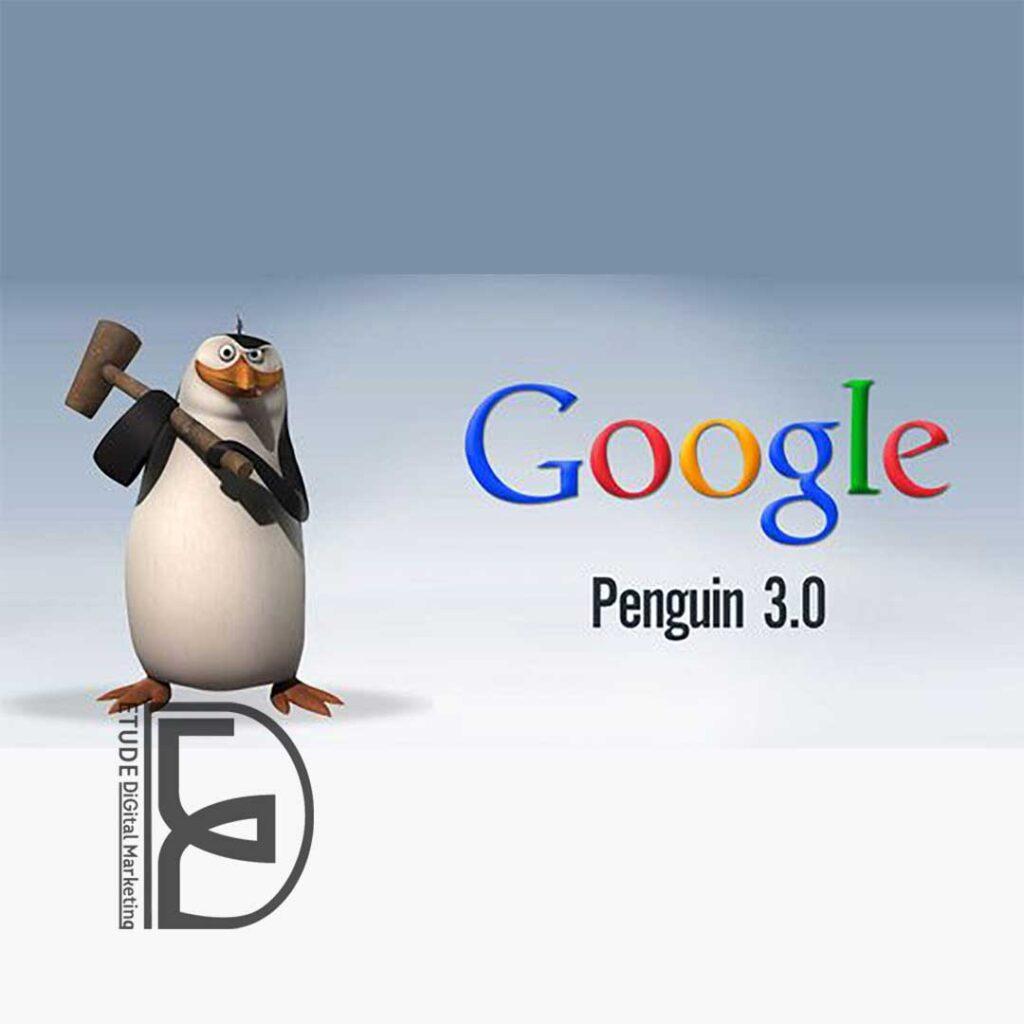 الگوریتم پنگوئن بررسی اصول سئو در طراحی وب سایت در مشهد