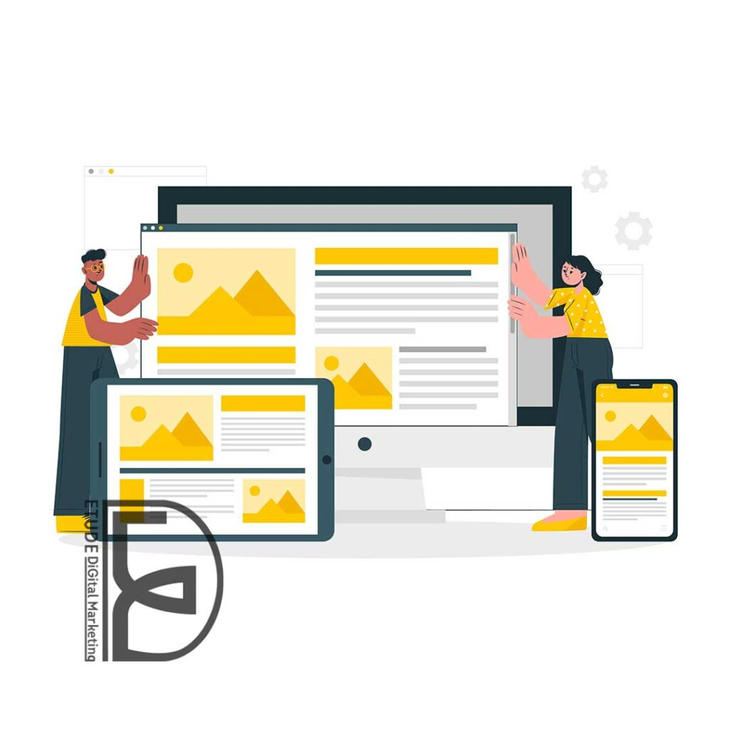 بررسی اصول و شاخصه های ریسپانسیو بودن یک وب سایت