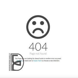ارور 404 لینک های مرده | سئو سایت مشهد